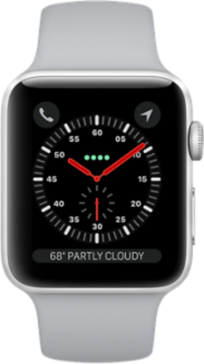 Apple Watch Series 3 4G 42mm Aluminium with Sport Band smartwatch