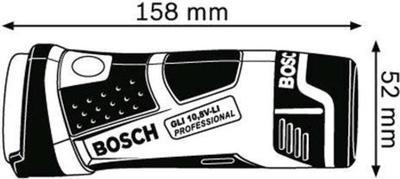 Bosch GLI 10.8 V-LI flashlight