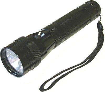 Lighthouse 6 LED+ Xenon 2 Function Torch Black 2D flashlight