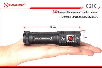 Sunwayman C21C flashlight