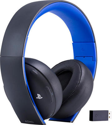 Sony PlayStation Gold Wireless Stereo headphones