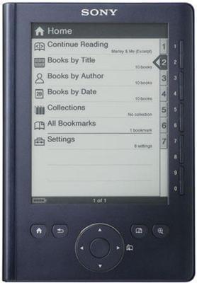 Sony Pocket Edition PRS-300 ebook reader