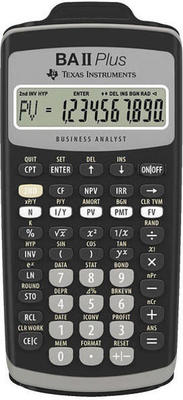 Texas Instruments TI-BAII Plus calculator