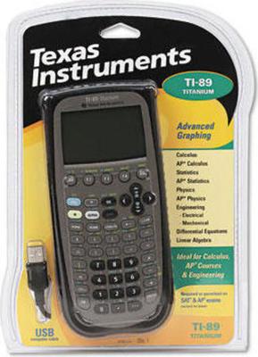 Texas Instruments TI-89 Titanium calculator
