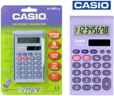 Casio SL-460L calculator