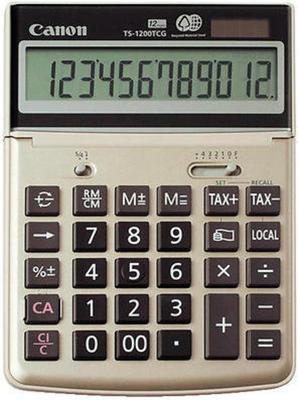 Canon TS-1200TCG Green calculator