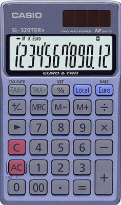Casio SL-320TER Plus calculator