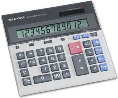 Sharp QS-2130 calculator