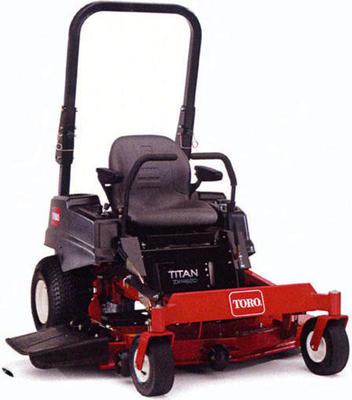 Toro Titan ZX4820 ride-on lawn mower