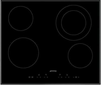 Smeg SE364ETB cooktop