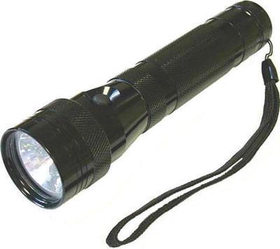 Lighthouse 6 LED+ Xenon 2 Function Torch Black C flashlight