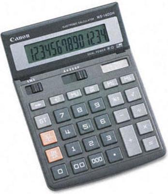 Canon WS-1400H calculator