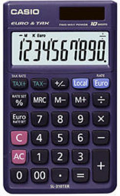 Casio SL-310TER calculator