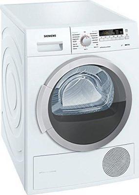 Siemens WT46W2FCB tumble dryer
