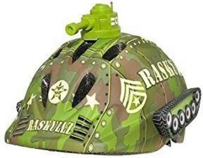 Raskullz Tank Transportz bicycle helmet