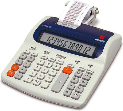 Olivetti Summa 220 calculator