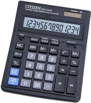 Citizen SDC-554S calculator