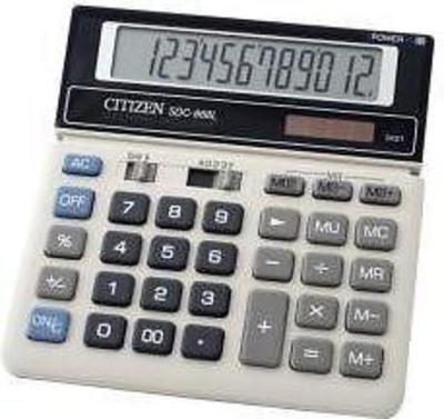 Citizen SDC-868L calculator