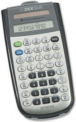 Texas Instruments TI-36X Solar calculator