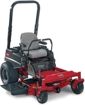 Toro Titan ZX 4800 ride-on lawn mower