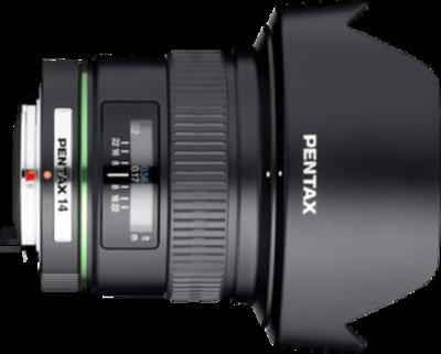 Pentax smc DA 14mm F2.8 ED (IF) lens