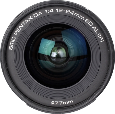 Pentax smc DA 12-24mm F4.0 ED AL (IF) lens