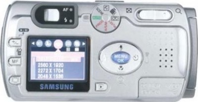 Samsung Digimax V6 digital camera