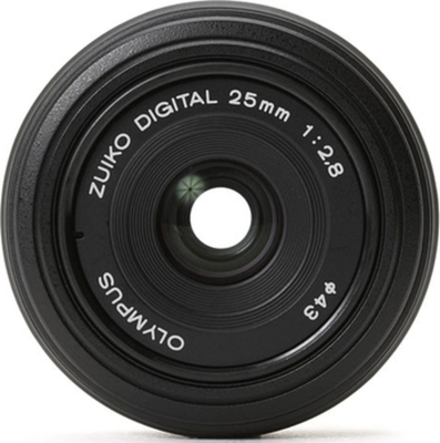 Olympus Zuiko Digital 25mm 1:2.8 Pancake lens