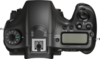 Sony Alpha SLT-A68 digital camera top