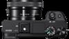 Sony Alpha a6300 digital camera top