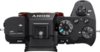Sony Alpha 7R II digital camera top