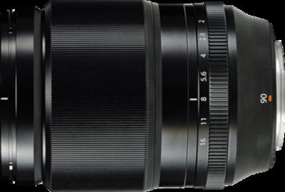 Fujifilm XF 90mm F2 R LM WR lens