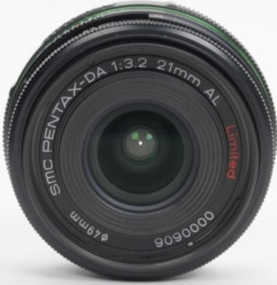 Pentax smc DA 21mm F3.2 AL Limited lens