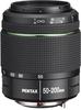 Pentax smc DA 50-200mm F4-5.6 ED WR lens top