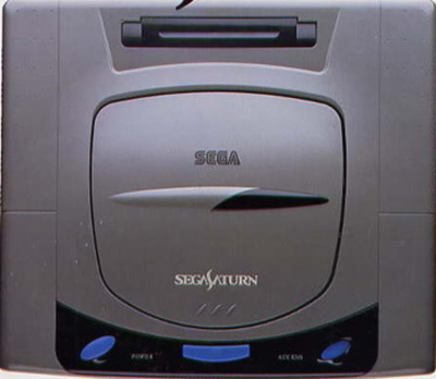 Sega Saturn game console