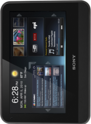 Sony Dash tablet