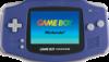 Nintendo Game Boy Advance portable game console