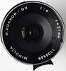 Minolta W.Rokkor-QH 21mm f4 SR (1963) lens