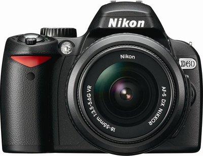 Nikon D60 digital camera
