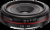 Pentax HD DA 40mm F2.8 Limited lens