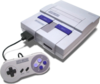Nintendo Super Entertainment System (SNES) game console