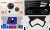 Google Star Wars Cardboard vr headset