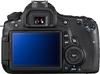 Canon EOS 60D digital camera rear