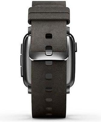 Pebble time steel leather 6 small