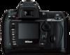 Nikon D70s digital camera rear