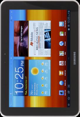 Samsung galaxy tab 8 9 front small