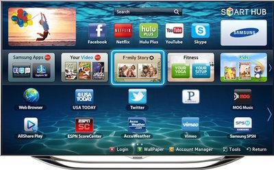 Samsung UN65ES8000F tv