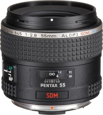 Pentax smc D FA 645 55mm F2.8 AL (IF) SDM AW lens