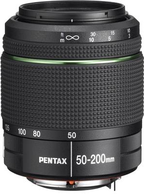 Pentax smc DA 50-200mm F4-5.6 ED WR lens