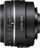 Sony 85mm F2.8 SAM lens